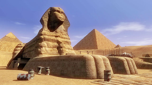 Great Sphinx Picture For Kids