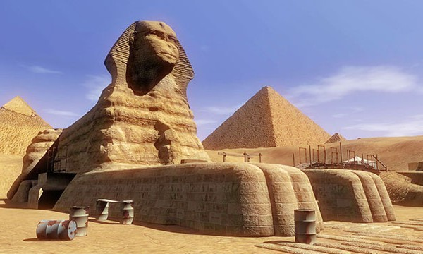 the history of building the monument of the great sphinx Chapter 8: the ancient egyptian pharaohs also known for possibly building the great sphinx of giza few of the monuments he had built of himself have.